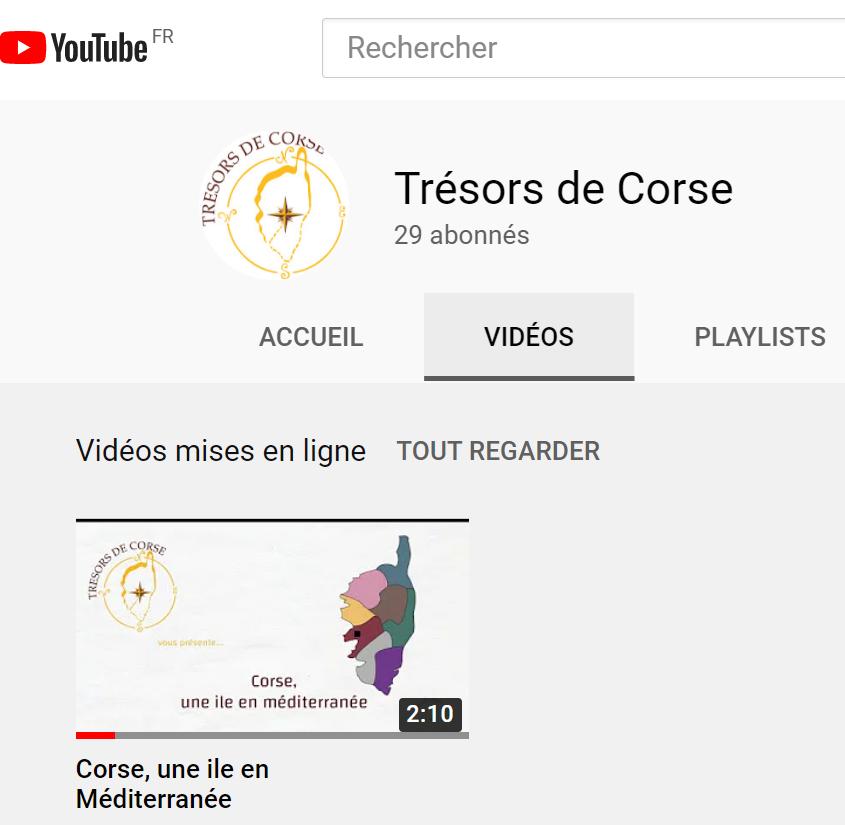 Chaine YouTube TDC